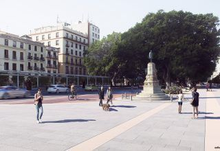 Marqués de Larios 320x220 - ALAMEDA PRINCIPAL IN MÁLAGA