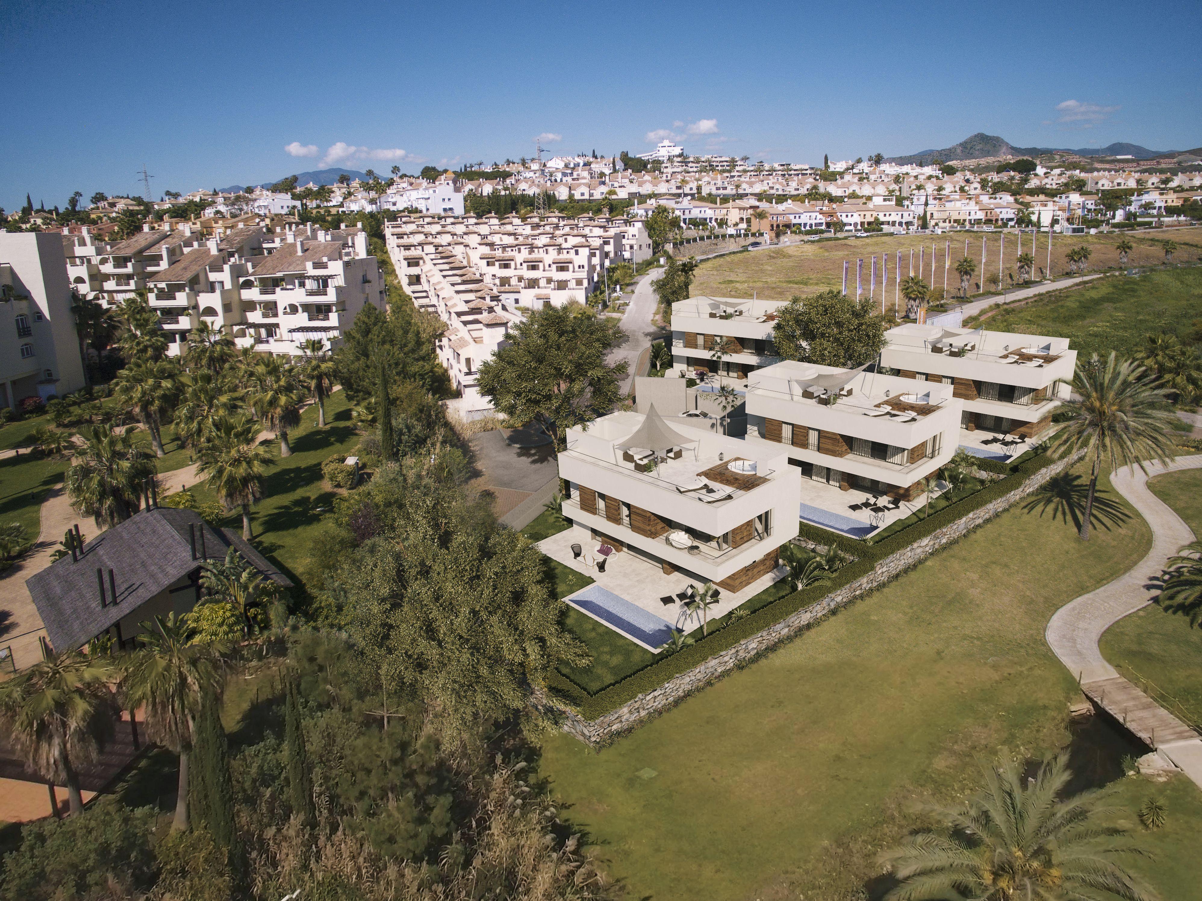 vista-dron-Render-Integracion-3D-Campanario-Marbella