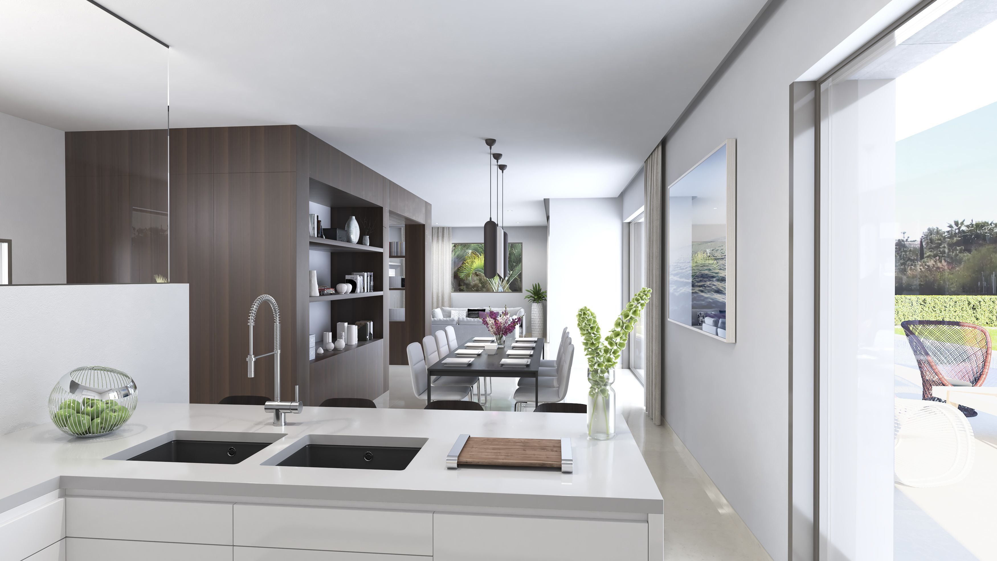 cocina-diseño-interior-campanario-marbella