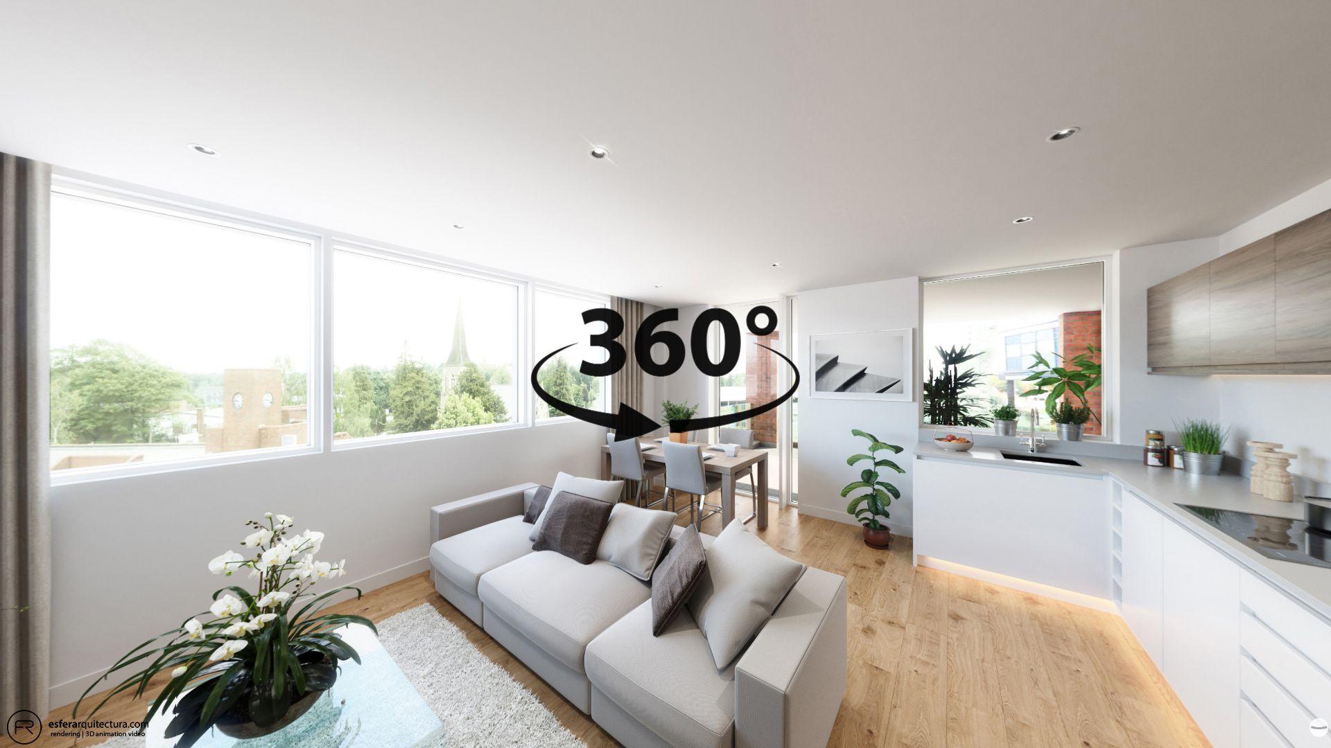 Tour Virtual 360 Edificio De Viviendas En Londres Esferarquitectura