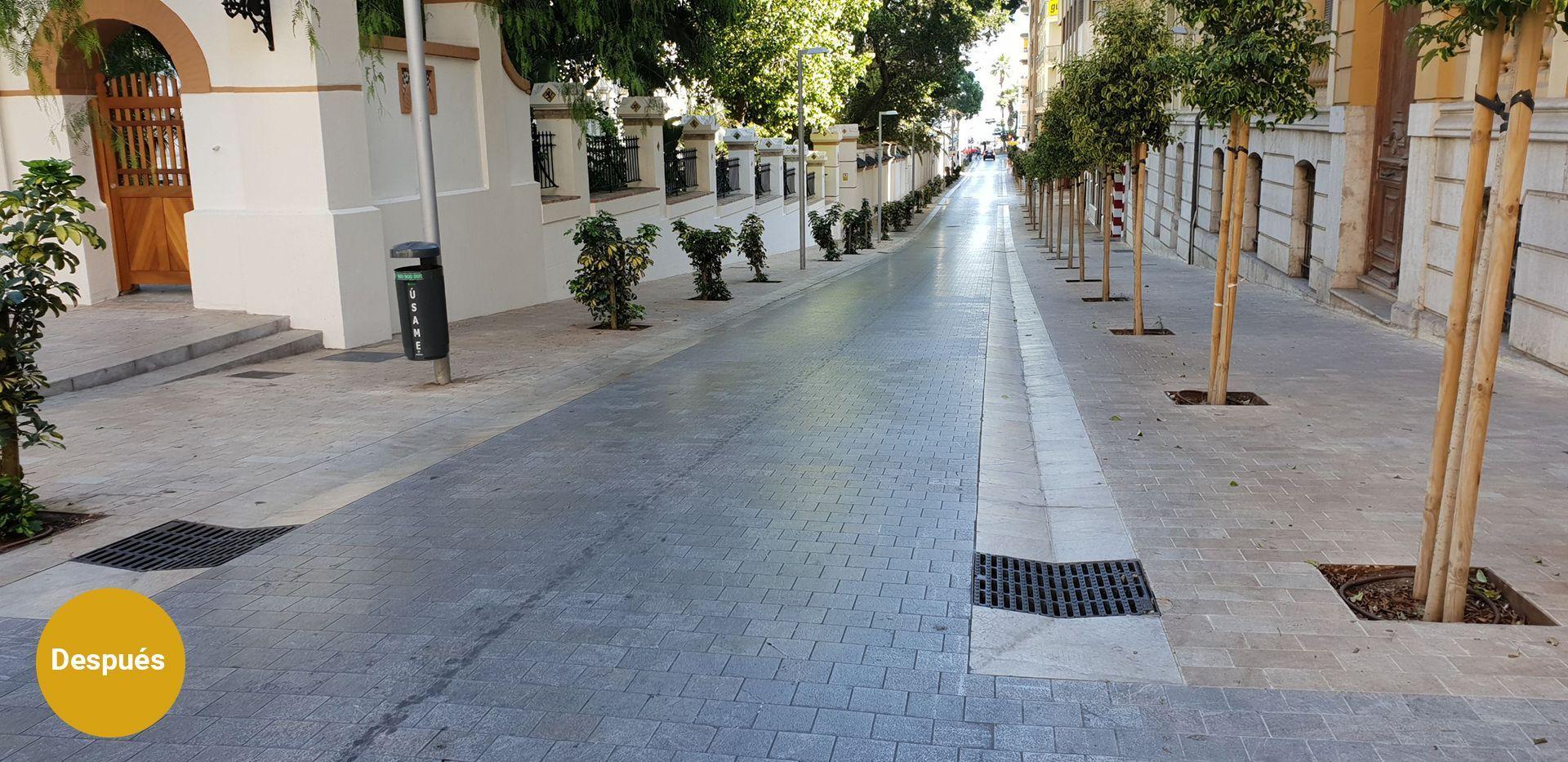 Proyecto Calle Keromnes - Diseño urbano en Málaga