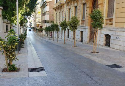 Diseño urbano Calle Keromnes Málaga