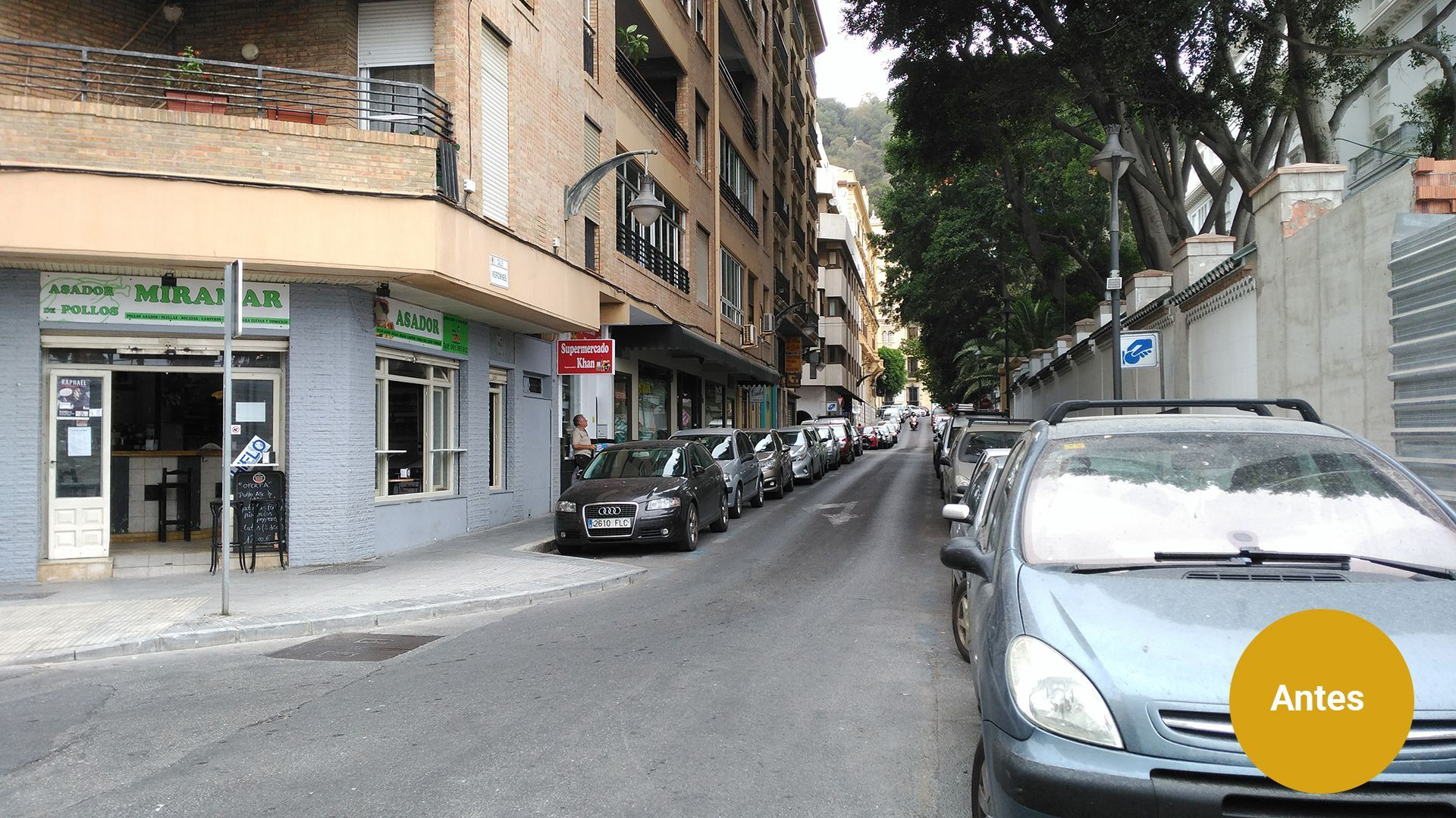 Calle Keromnes Previo -- Diseño urbano en Málaga