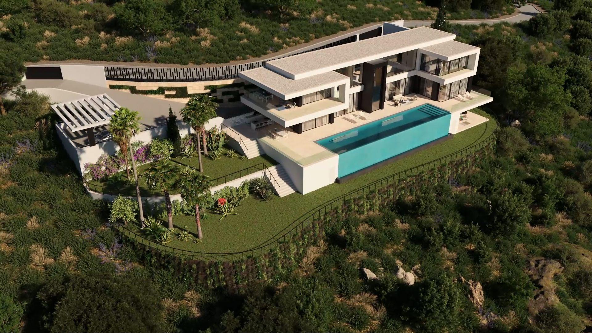 Vídeo Animación 3D para Villa en Montemayor Alto (Benahavís).
